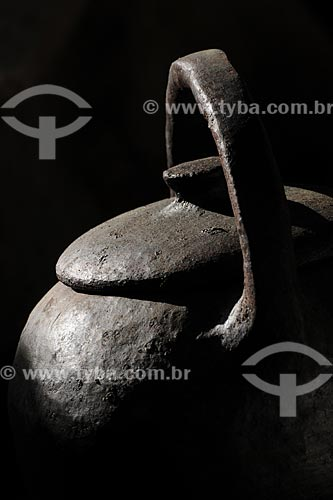 Assunto: Panelas de Barro - Cooperativa Paneleiras de Goiabeiras Velha /Local: Vitória - ES /Data: Março de 2008
