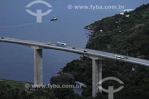 Assunto: Terceira Ponte que liga as cidades de Vitória e Vila Velha / Local: Vitória - ES /Data: Março de 2008