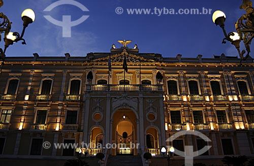 Assunto: Palácio Anchieta / Local: Vitória - ES /Data: Março de 2008