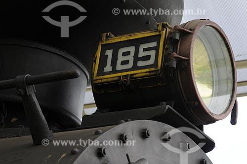 Assunto: Locomotiva histórica conhecida como Maria Fumaça no Museu Ferroviário /Local: Vila Velha - ES /Data: Março de 2008