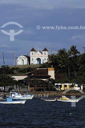Assunto: Vista da cidade de Meaípe /Local: Meaípe - ES /Data: Março de 2008