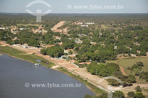 Assunto: Vista aérea de São Félix do Araguaia, na região do Cerrado / Local: São Félix do Araguaia - Mato Grosso (MT) - Brasil / Data: Junho de 2006