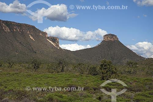 Assunto: Paisagem do Cerrado do Parque Estadual do Jalapão, no caminho para as dunas / Local: Tocantins (TO) - Brasil / Data: Junho de 2006