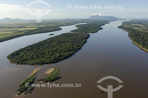 Assunto: Rio Branco e a mata de galeria em sua várzea, ao sul de Boa Vista / Local: Roraima (RR) - Brasil / Data: Janeiro de 2006