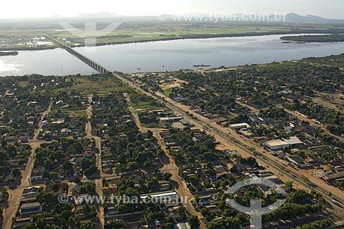 Assunto: Ponte Boa Vista - Bonfim, sobre o rio Branco / Local: Boa Vista - Roraima (RR) - Brasil / Data: Janeiro de 2006