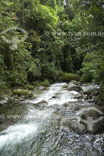 Assunto: Poço do rio Santo Antônio, na Área de Proteção Ambiental da Serrinha do Alambari / Local: Resende - RJ - Brasil / Data: Dezembro de 2006