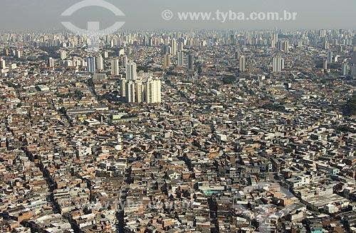 Asunto: Vista aérea da favela de Heliópolis / Local: São Paulo - SP - Brasil / Data: 05/2008