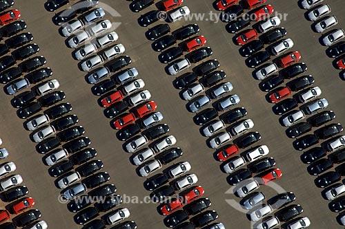 Asunto: Vista aérea do Pátio da Fábrica da Ford / Local: São Bernardo do Campo - SP - Brasil / Data: 05/2008