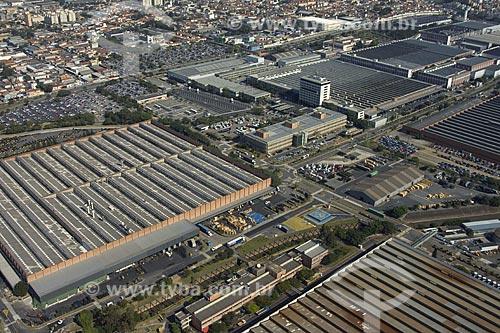 Asunto: Vista aárea da fábrica de caminhões Mercedes-Benz / Local: São Bernardo do Campo - SP - Brasil / Data: 05/2008