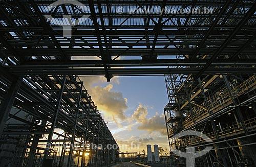 Assunto: Industria Química no Polo Petroquímico de Camaçarí / Local: Camaçarí  - Bahia - Brasil / Data: 12/2007