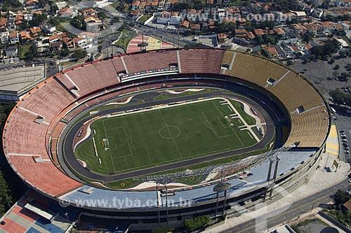Asunto: Vista aérea do Estádio do Morumbi / Local: São Paulo - SP - Brasil / Data: 05/2008