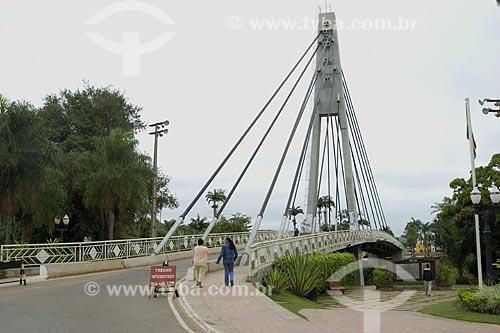 Asunto: Ponte Wilsom Pinheiro sobre o Rio Acre - fronteira internacional Brasil-Bolívia / Local: Brasiléia - Acre - Brasil / Data: 06/2008