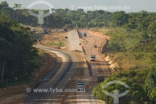 Asunto: Obra de duplicação da Rodovia  BR-364 / Local: Porto Velho - Rondônia - Brasil / Data: 06/2008