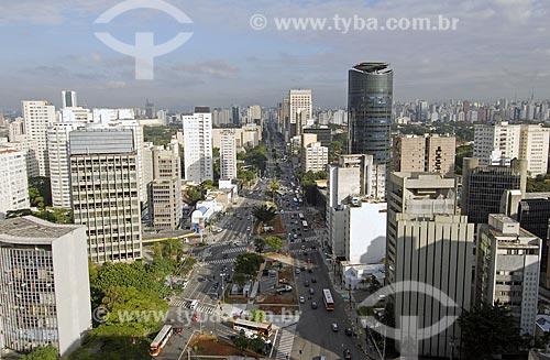 Assunto: Avenida Brigadeiro Faria Lima com Cidade Jardim / Local: São Paulo - SP - Brasil / Data: 01/2008