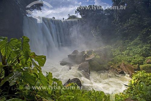 Assunto: Cachoeira da Fumaça no Rio Balsas / Local: Ponte Alta do Tocantins - Tocantins - Brasil / Data: 02/2007