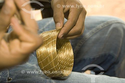 Assunto: Artesanato de Capim Dourado - Região do Jalapão / Local: Ponte Alta do Tocantins - Tocantins - Brasil / Data: 02/2007
