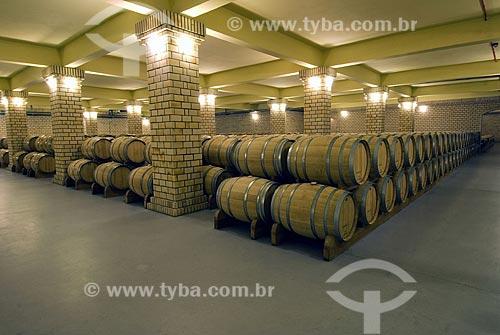 Assunto: Cave da vinícola Miolo - Vale dos Vinhedos / Local: Bento Gonçalves - RIo Grande do Sul - Brasil / Data: 02/2008