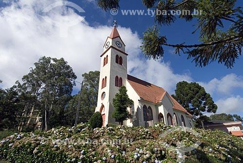 Assunto: Igreja Luterana / Local: Gramado - Rio Grande do Sul - Brasil / Data: 03/2008