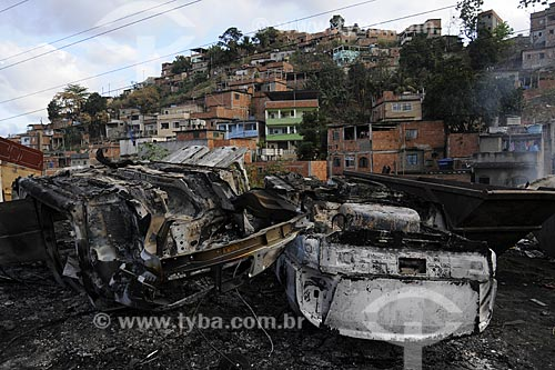 Assunto: Lixão da Fazendinha - Futura Horta Comunitária - Obras do PAC - Programa de Aceleração do Crescimento / Local: Complexo do Alemão - Zona Norte do Rio de Janeiro - Brasil / Data: Agosto 2009