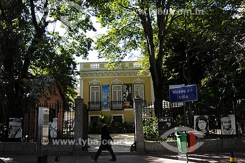 Assunto: Fachada do Museu do Índio Local: Botafogo - Rio de Janeiro - RJData: Junho de 2009