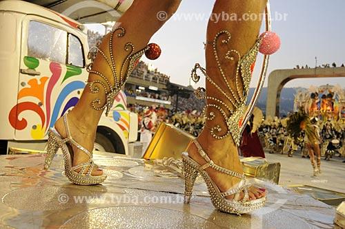 Assunto: Desfile da escola de samba Salgueiro - Carnaval do Rio de JaneiroLocal: Rio de Janeiro - RJData: Fevereiro de 2009