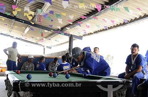 Assunto: Operários do PAC em Manguinhos - Área de LazerLocal: Manguinhos - Rio de Janeiro (RJ) - Brasil Data: 07/07/2009