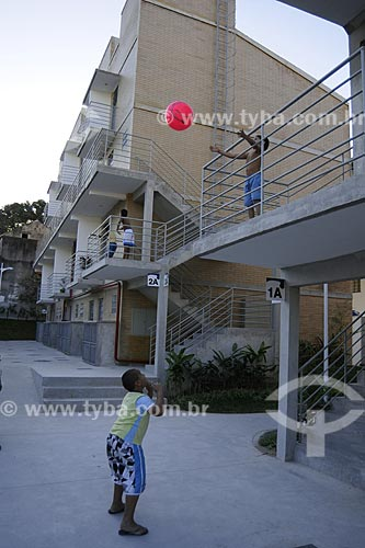 Assunto: Primeira Unidade Residencial do PAC Complexo do AlemãoLocal: Rio de Janeiro - RJData: 07/07/2009