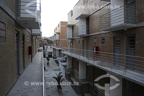 Assunto: Primeira Unidade Residencial do PAC Complexo do Alemão Local: Rio de Janeiro  (RJ) - BrasilData: 07/07/2009