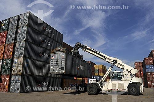 Assunto: Porto do Rio de Janeiro - Terminal de Container / Local: Rio de Janeiro - RJ / Data: Julho de 2009