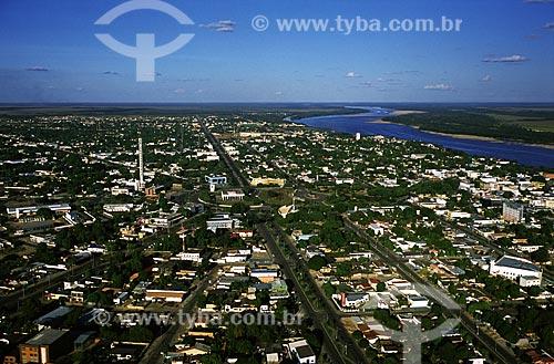 Assunto: Boa Vista, capital do Estado de Roraima, nas margens do Rio Branco / Local: Boa Vista - Roraima (RR) - Brasil / Data: Março de 2009
