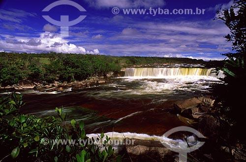 Assunto: Cachoeira no Parque Nacional Canaima / Local: Santa Helena de Uairén - Venezuela / Data: Março de 2009