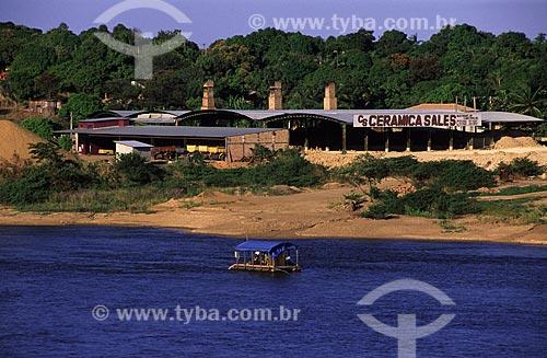 Assunto: Olaria - Fábrica de tijolos e cerâmicas nas margens do rio Branco / Local: Boa Vista - Roraima (RR) - Brasil / Data: Março de 2009