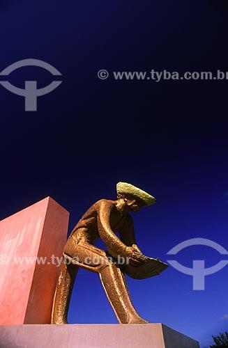 Assunto: Monumento em homenagem ao garimpeiro / Local: Boa Vista - Roraima (RR) - Brasil / Data: Março de 2009