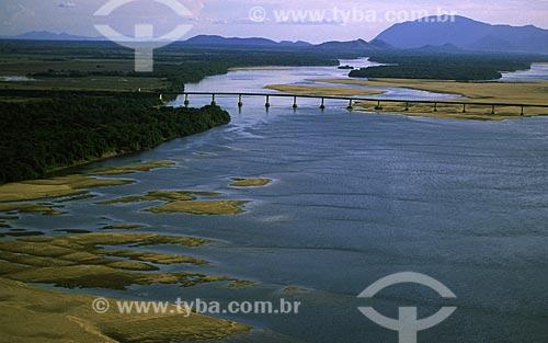Assunto: Ponte sobre o rio Branco / Local: Boa Vista - Roraima (RR) - Brasil / Data: Março de 2009
