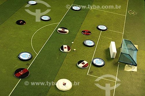 Assunto: Futebol de Botão (Grêmio x Flamengo) / Local: Rio de Janeiro - RJ / Data: Julho de 2009