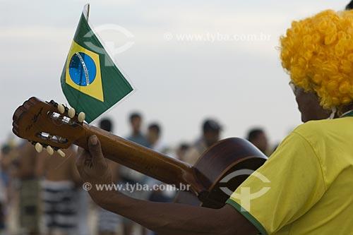 Assunto: Comemoração pela vitória do Rio de Janeiro como sede dos jogos Olímpicos de 2016 / Local: Praia de Copacabana - Rio de Janeiro - RJ - Brasil / Data: 2 de Outubro de 2009
