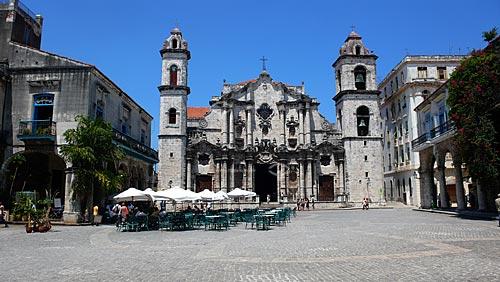Assunto:  Praça da Catedral de San Cristóbal / Local: Havana - Cuba / Date: outubro 2009