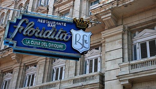 Assunto: Bar restaurante Floridita restaurante preferido pelo escritor americano Ernest Heminguay para tomar a bebida típica cubana