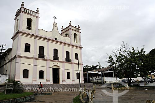 Assunto: Igreja Nossa Senhora de Nazareth na Praca São José / Local: Acará - Pará - Brasil / Data: 02-04-2009