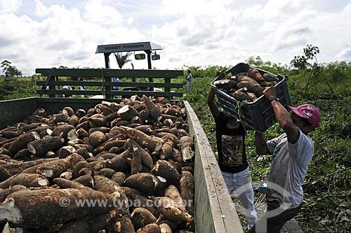 Assunto: PAFAM - Programa de Agricultura Familiar - Caminhao para transporte da colheita de mandioca / Local: Comunidade de Guajarauna - Barcarena - Pará  - Brasil / Data: 03-04-2009