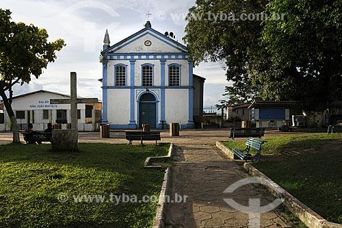 Assunto: Igreja Sao Joao Batista na Praca Vila do Conde (1863)/ Local: Barcarena - Pará  - Brasil / Data: 03-04-2009