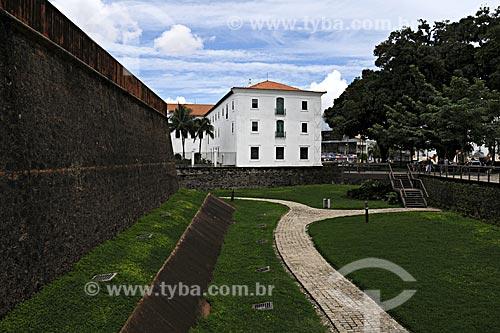 Assunto: Museu de Arte Sacra visto do Forte do Presépio / Local: Belém - Pará - Brasil / Data: 05-05-2009