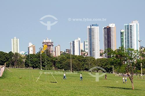 Assunto: Parque das Nações Indígenas e cidade de Campo Grande ao fundo / Local: Campo Grande - Mato Grosso do Sul (MS) / Data: Outubro de 2008