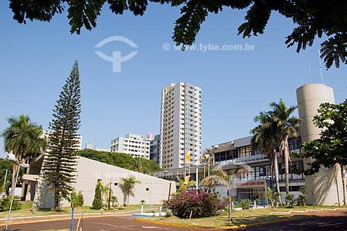 Assunto: Prefeitura e Teatro do Paço da cidade de Campo Grande / Local: Campo Grande - Mato Grosso do Sul (MS) / Data: Outubro de 2008