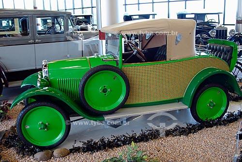Assunto: Museu do Automóvel - Museu da Tecnologia - Peugeot 1924 / Local: Canoas - Rio Grande do Sul (RS) / Data: Fevereiro de 2008