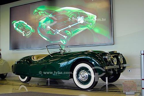 Assunto: Museu do Automóvel - Museu da Tecnologia - Jaguar XX 120 -1950  / Local: Canoas - Rio Grande do Sul (RS) / Data: Fevereiro de 2008