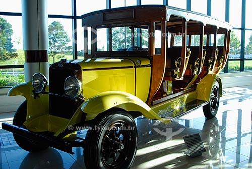 Assunto: Museu do Automóvel - Museu da Tecnologia - Jardineira Chevrolet - 1929 / Local: Canoas - Rio Grande do Sul (RS) / Data: Fevereiro de 2008