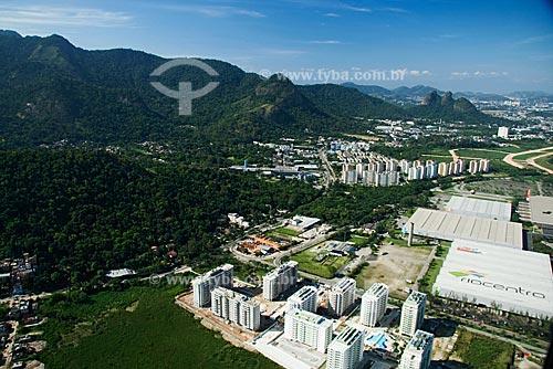 Assunto: Vista aérea do Rio centro, maior centro de convenções da América Latina / Local: Barra da Tijuca - Rio de Janeiro - RJ - Brasil / Data: Outubro de 2009