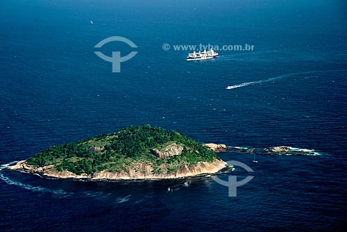 Assunto: Ilha de Cotunduba, próximo à Boca da Barra da Bahia de Guanabara / Local: Rio de Janeiro - RJ - Brasil / Data: Outubro de 2009