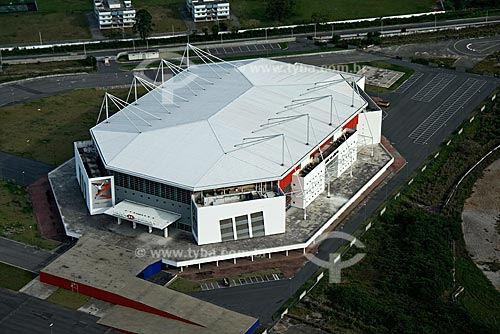 Assunto: Vista aérea da HSBC Arena, na Barra da Tijuca / Local: Rio de Janeiro - RJ - Brasil / Data: Outubro de 2009